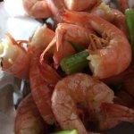 nice steamed shrimp