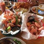 steamed shrimp x 2