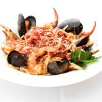 We offer several seafood dishes!