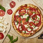 You can choose from our signature pies or create your own pizza. Our pizzas are 10-inch thin cru