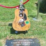 Chris Cornell.... sad... just to left is Johnny Ramone.