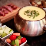 Cheese Fondue with Premium Dippers
