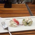 Moshe ice cream dessert