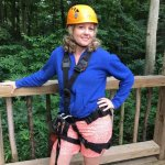 Soaring Cliffs Zip Line Course Foto