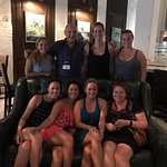 Mary Beth, Logan and Shannon and friends in Charleston for a bachelorette party!