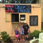 We are the best burgers ever! We loved it here and will be back! Kids loved the shaved ice after