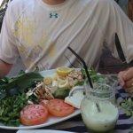 Un almuerzo saludable en el Café Escondido