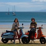Explore Waiheke Island by Scooter!