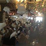 flying napkins