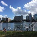 Photo of Lake Eola Park