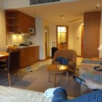 serviced suite with kitchenette