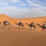 Sahara Desert, Merzouga.