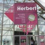 Entry to Herbert Museum