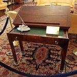 Thomas Jefferson's desk.