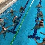 Provas físicas do curso PADI DIvemaster. Não façam essas caras, são apenas 15 minutos a flutuar