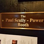 Paul Skully-Power Booth sign.