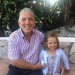 La Farfalla's wonderful host. As a grandad himself he knows how to make the kids feel extra spec