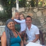 A lovely meal with my family on our last night at La Farfalla.