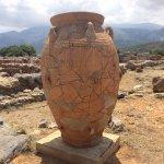 Malia Minoan Palace Foto