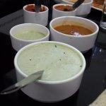 Tasty Sambar & Chutnies