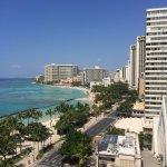 Waikiki Marriott Hotel Balcony View