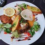 Petit repas fort sympathique et succulent.