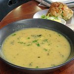 Fish Soup / Savoury Scone