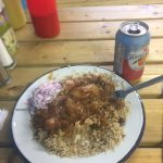 Slow cooked Mutton curry with coleslaw