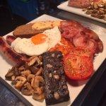 a full English breakfast, Broom House Farm style