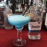 Blue Coconut Margarita