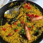 Delicious Seafood paella !