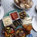 Vegetarian Mezze for 2