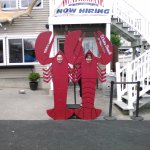 Don't forget to take your photo with the Lobsters.