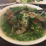 Raw Steak and Meatball Pho