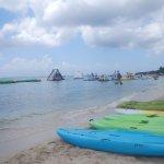 Beach activities available