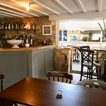 The new bar, The Mousetrap Inn, Bourton on the Water