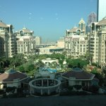 View of the Al Murooj complex from my room