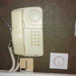Le fil du téléphone est une ficelle