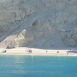 Strand von Egremni Foto