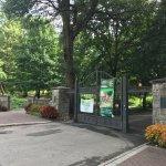 Piedmont Park entrance on Piedmont Ave. (08-07-17)