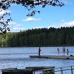 Sognsvann Lake at tour end