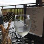 Sauvignon Blanc on the terrace