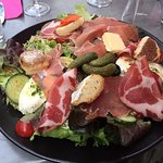 Salade Antipasti : excellent !
