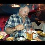 Simon eating his phall
