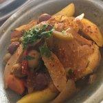 Tajine poulet olives aux citron 🍋