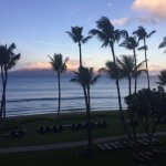 View from Lahaina Ocean Front Tower Suite