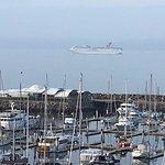 Here comes the Wednesday Cruise ship into Port of Ensenada
