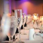 Elegant wedding receptions at Hilton Garden Inn Raleigh-Cary.