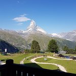 View of the Matterhorn from our room