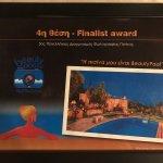 Villa Aloni - Beauty Pool,4th Finalist Award 2017
